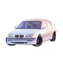 PU toldat első BMW E46 1998-01 4D Typ 3